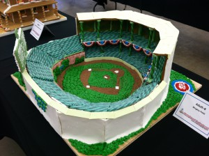 Wrigley Field 2nd Place Adult & Best use of Candy winner